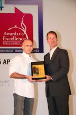 <br />At-Sunrice GlobalChef Academy GlobalChef Award 2014 recipient Chef Pierre Burgade